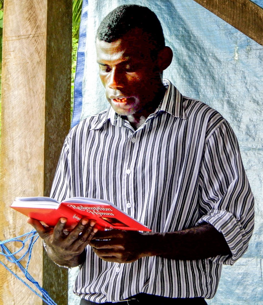 Redemption Hymns being used in Bougainville
